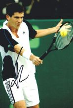 Tim Henman Autograph Signed Photo - Tennis